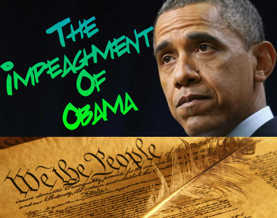 Formal Articles of Impeachment for Obama: Michael Connelly