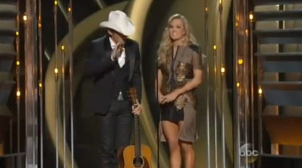 Brad Paisley and Carrie Underwood Perform 'Obamacare by Morning'