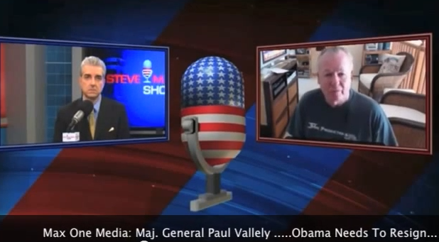 Military General Paul Vallely Demands Obama's Resignation