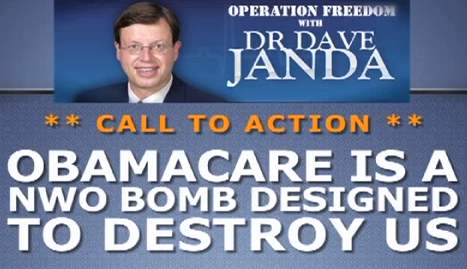 Obamacare is a NWO Bomb Designed to Destroy The United States
