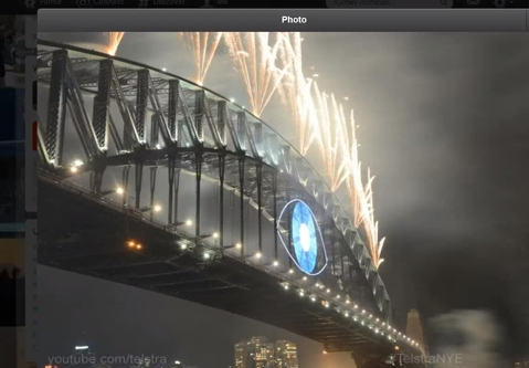Illuminati Themed New Years Fireworks Show - December 31st, 2013 Sydney Australia