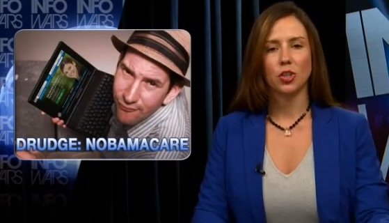 "Matt Drudge Opts Out of Obamacare ""For Life"""