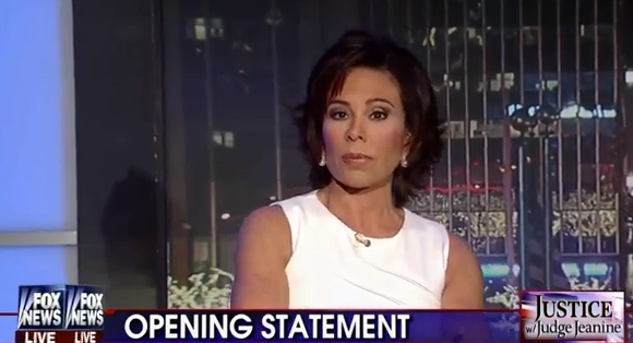 "Judge Jeanine to Obama: ""Shame On You, Mr. President!"" - Opening Statement - 1-11-14"