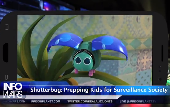 New Cartoon Brainwashes Kids In To Accepting Drone Spying