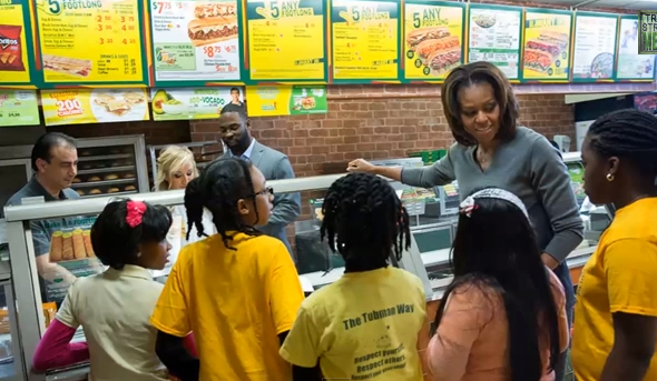 Idiocracy? The White House's 'Healthy' Diet Plan for Kids, Brought to You by Subway