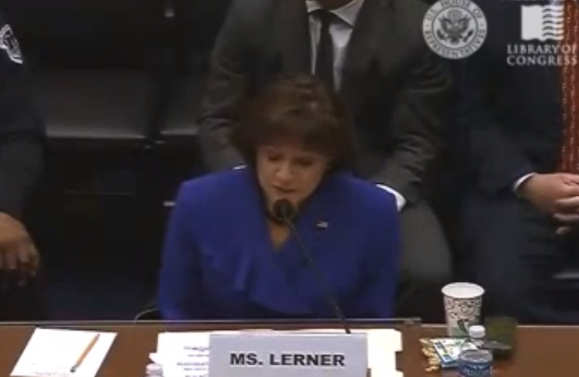 Lois Lerner Takes The Fifth, Again
