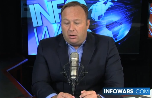 Alex Jones talks about today's news concerning...