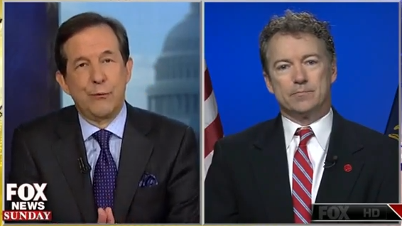 Big Winner Of Straw Poll, Sen. Rand Paul Appears on Fox News Sunday - 03.09.2014