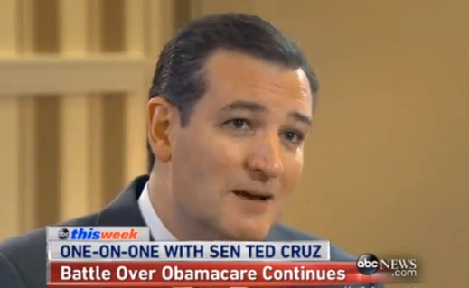 CNS News: Cruz: Obamacare Could Be Gone in 2015 &#...