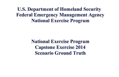 Top Secret Leaked DHS Drill Coming: Military, Veterans, Capitalists are the Enemy