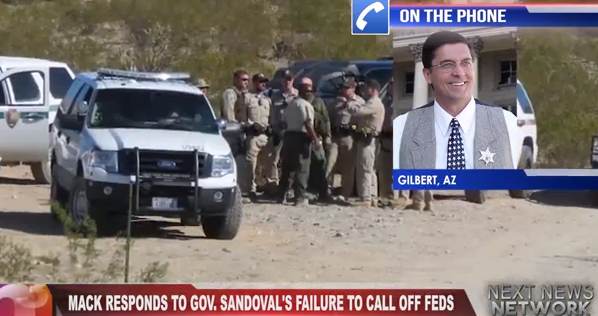 Sheriff Mack Responds Federal Terrorism at Bundy Ranch