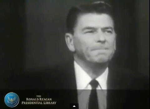 Ronald Reagan 1964 Warns America Of A Bundy Type Scenario...
