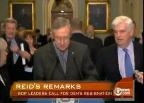 Remember When A Racist Harry Reid Said Obama Was Electable...