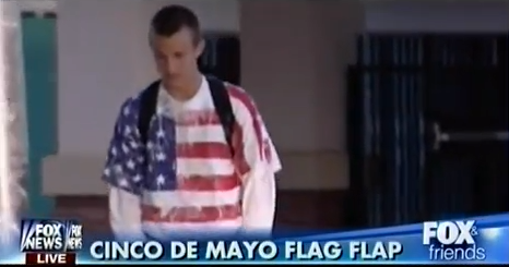 No American Flag T-Shirts On Cinco De Mayo, Tea Party To Protest