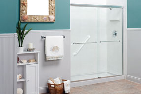 A tub conversion can turn your under-used, outdated tub into a fully functional shower.