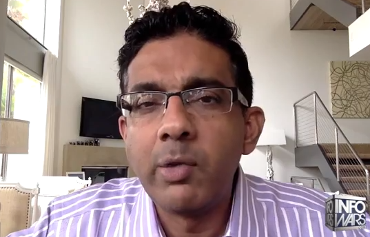 Dinesh D'Souza Explains What Made America Truly Exceptional And What Would Happen If It Fell