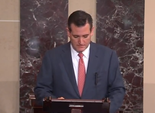 Sen Ted Cruz Wants Action From Eric Holder Or His Impeachment