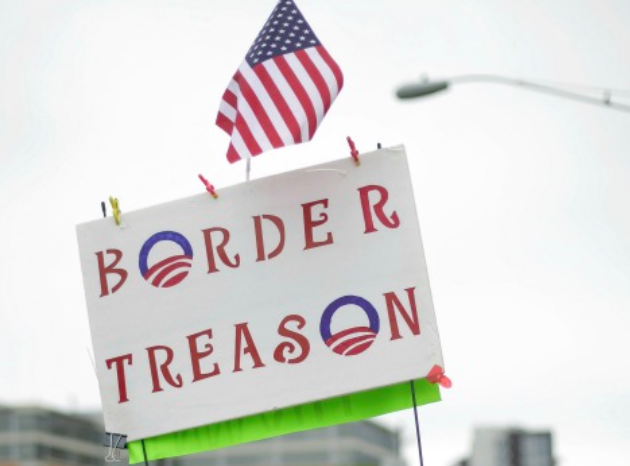 Obama's Border Treason – Will The American...