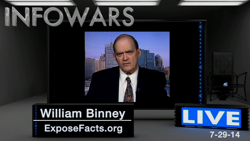 Alex Jones talks with William Binney about the NSA...