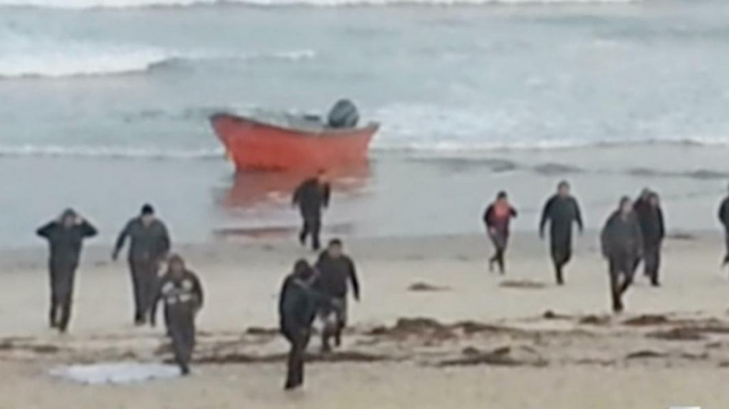 Illegal Aliens Storm the Beach in San Diego, Second...