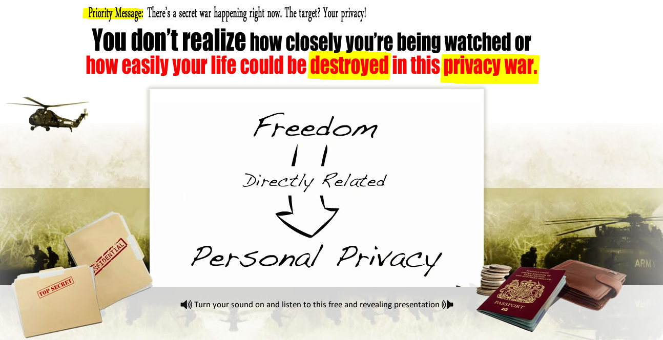 Privacy - Freedom