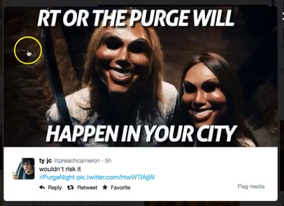 Social Media Madness – Louisville 'Purge...