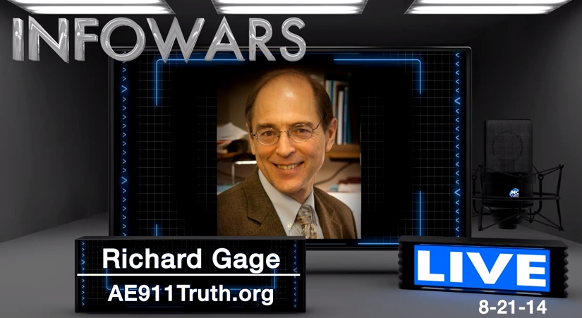 Richard Gage of AE911Truth: 9/11 False Flag Was The...