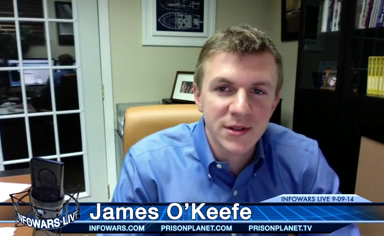 Investigative Reporter James O'Keefe joins Alex...