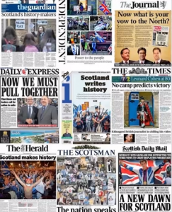 By Truth Stream Media –Voting for independence...