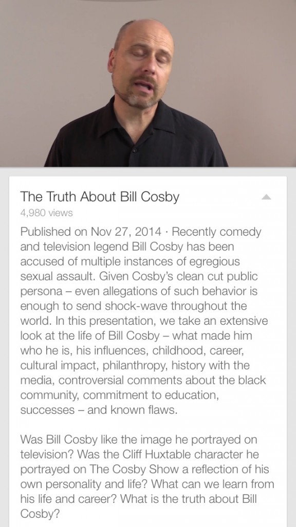 The truth about Bill Cosby Featured Item: GoPro HERO4...