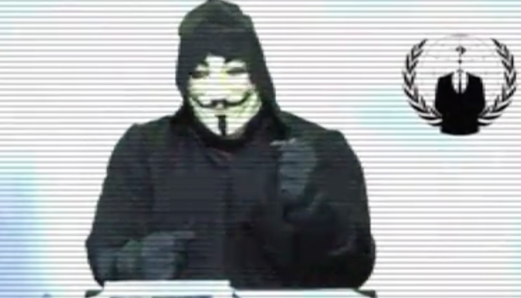 Anonymous calls out Barack Obama, before the 2015...