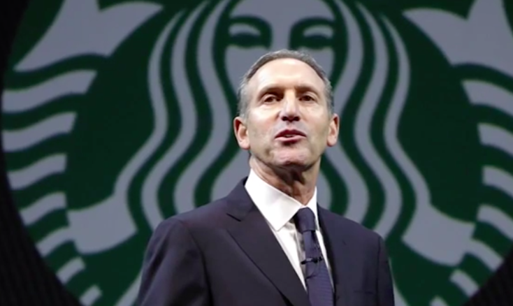 Crazy Jewish Starbucks CEO Howard Schultz Thinks He Has A Right To Manipulate His Customer's Thoughts and Feelings