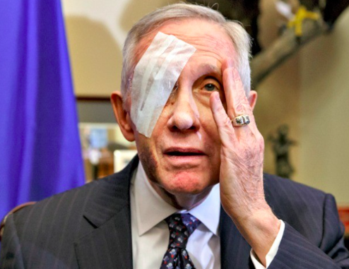 THE REAL REASON HARRY REID IS RETIRING SOURCE: BREITBART...