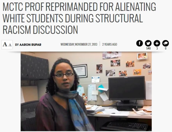 Anti-White Professors Inciting Racial Hatred and Violence...
