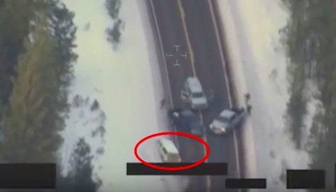 LaVoy Finicum Car Chase