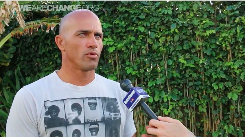 Kelly Slater Vote Nobody 2016, Investigate 9/11 and Screw Monsanto!!!