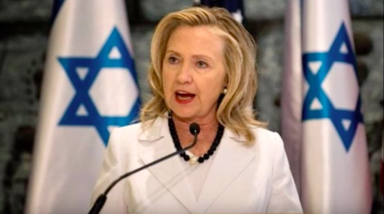Zio-whore Hillary & Her Seven Sleazy Zionist Top Campaign Donor