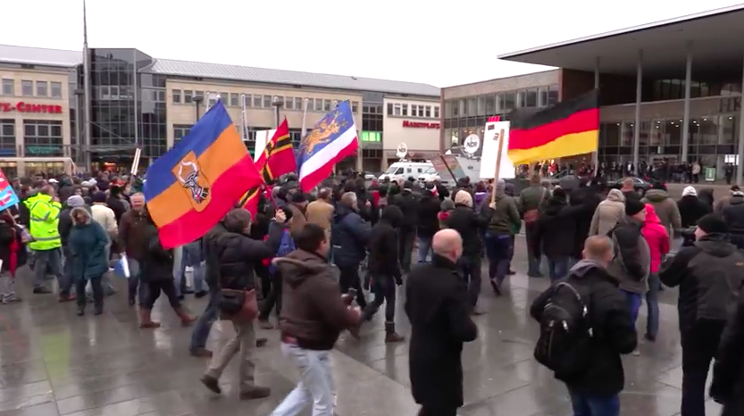 Germans Turn on Merkel – Jeer and Boo Her in Neubrandenburg