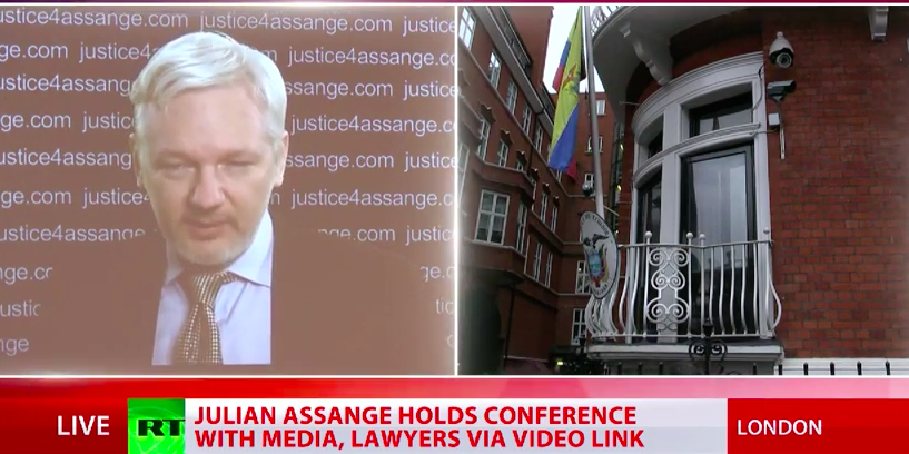 Julian Assange's Speech After UN Panel Ruling