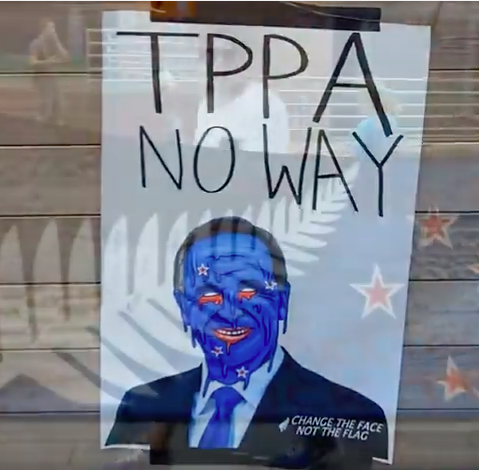 TPPA Signing Causes NZ's Largest Protest In...