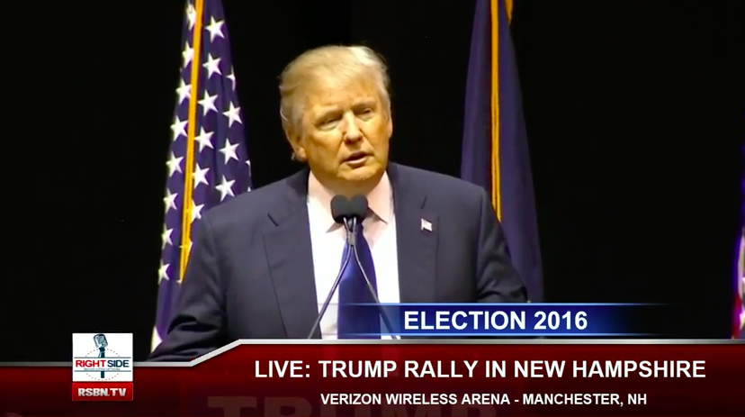 Caught On Video: Donald Trump Supporter Calls Ted Cruz a P*ssy in Manchester, NH