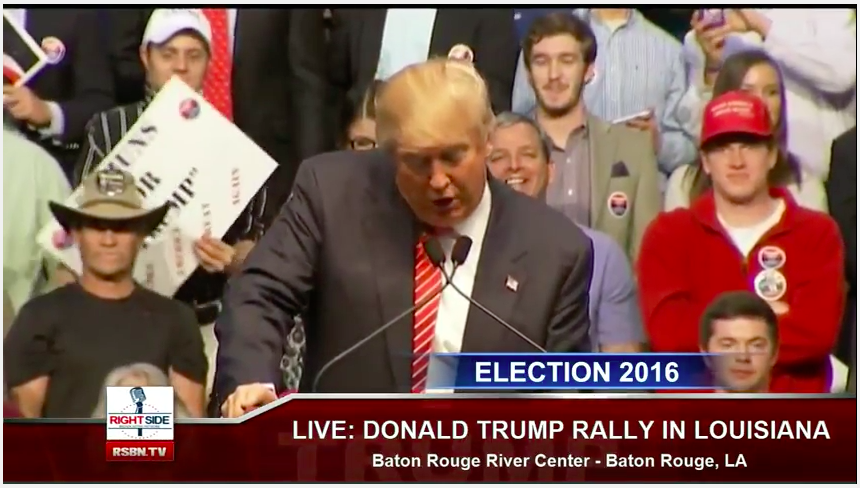 Donald Trump Rally in Baton Rouge, LA - February 11, 2016