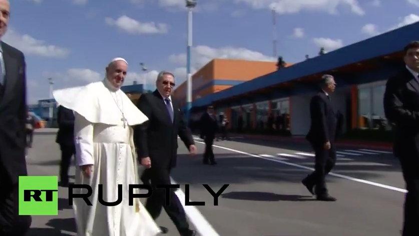 First Time Historic Event: Patriarch Kirill of Moscow Meets Pope Francis - Documented Video