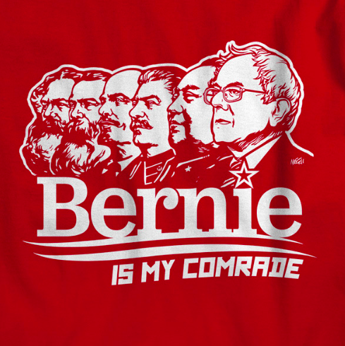 Comrade Bernie Sanders - Stands With The Biggest Mass Murderers In History, That Also Happen To Be Jewish