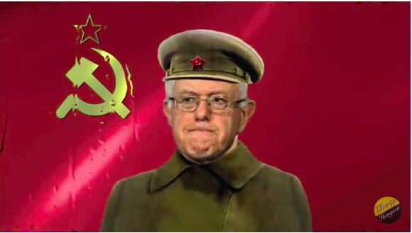 Bernie Sander is one creepy Communist Nut job, he also supports the Satanic Mass Murdering State Of Israel. Satan and Stalin would hang out with Bernie