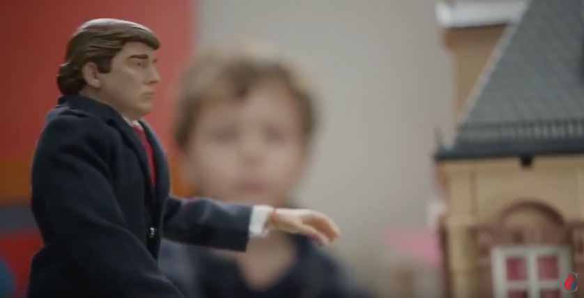 Creepy Canadian Born Ted Cruz Gets Low And Exploits Children In Ad To Attack Donald Trump