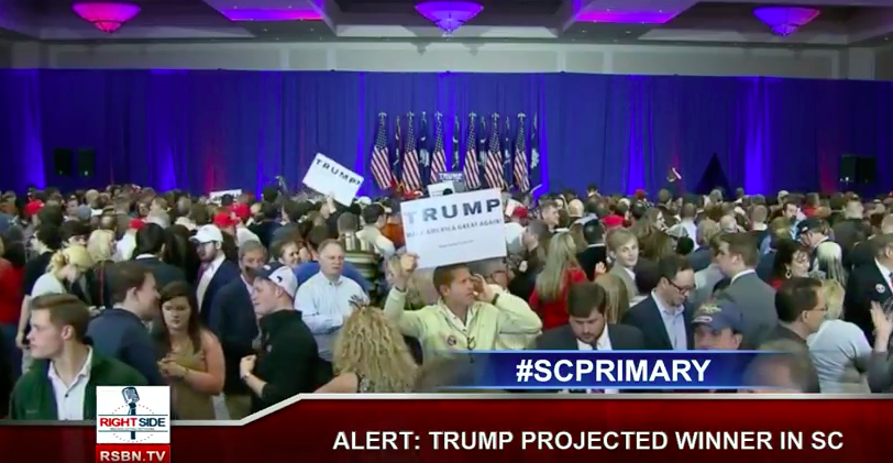 Donald Trump South Carolina Primary Watch Party