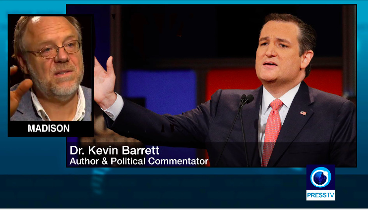 """Dr. Kevin Barrett says """"the entire political establishment"""" in the United States has been """"serving"""" Israel for decades."""