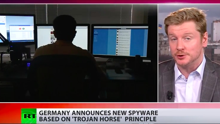 Das Spyware! Germany approves 'Trojan Horse' to monitor suspects