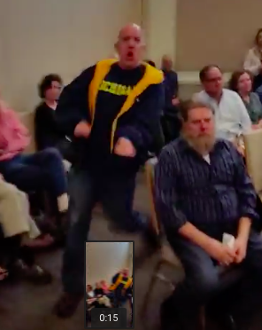Shock Video: Chicago Jew gets called Hitler for supporting Palestinian rights